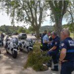 Perfectionnement des brigades moto des polices municipales de Vaucluse