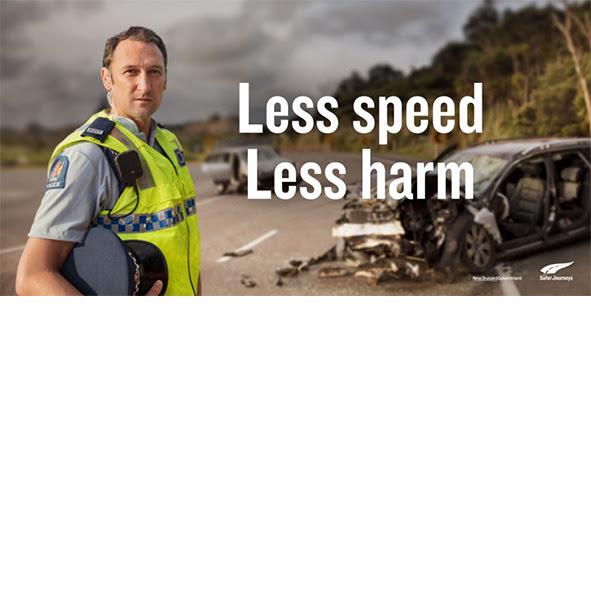 « Moins de vitesse, moins de dégâts » : une campagne de sensibilisation aux dangers de la vitesse
