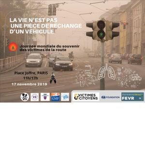 L'association Victimes & Citoyens s'associe au peintre Raphaël Kettani à l'occasion de la Journée mondiale du souvenir des victimes de la route