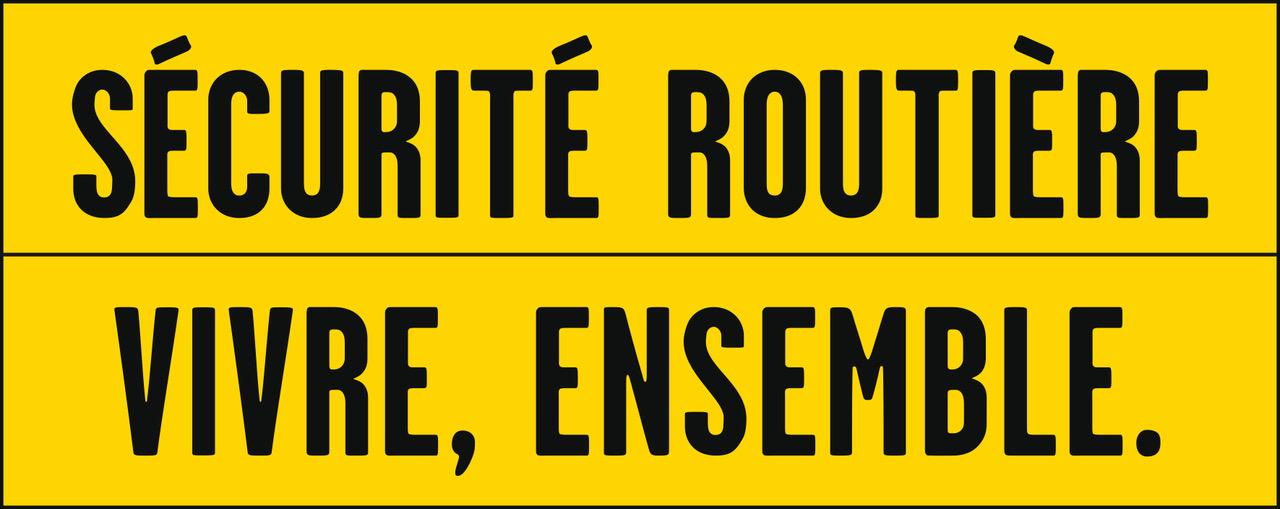 Nouveau mot d'ordre pour la Sécurité routière : de «Tous responsables» à «Vivre, ensemble»