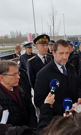 Christophe Castaner présente les chiffres historiques de la Sécurité routière pour la France métropolitaine