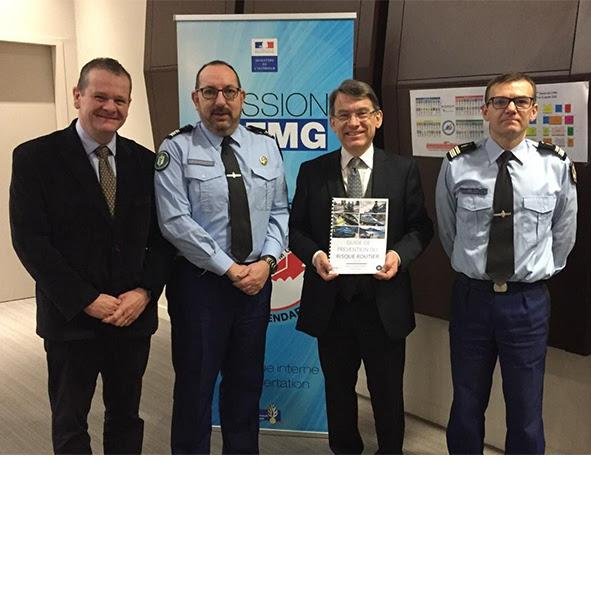 Emmanuel Barbe rencontre le Conseil de la fonction militaire de la gendarmerie autour de la sécurité routière