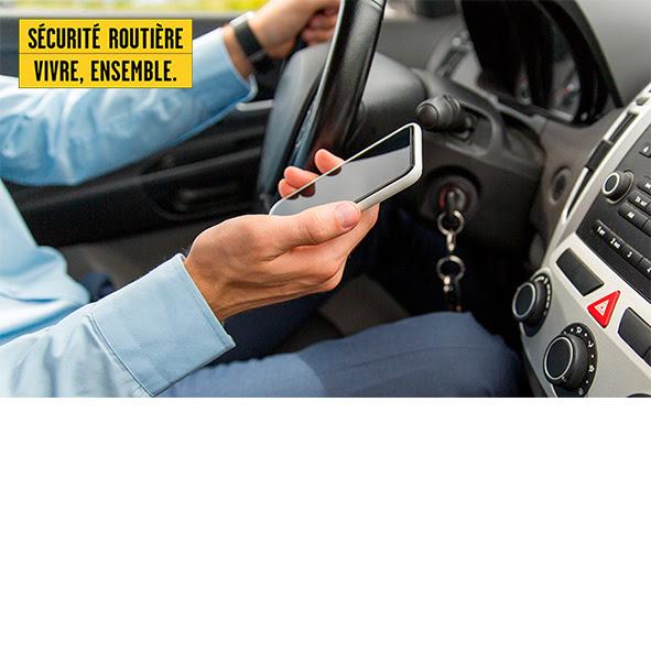 Journée mondiale sans téléphone du 6 février : les solutions de la Sécurité routière pour se passer de son téléphone au volant