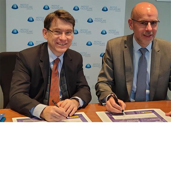 Le groupe Institut de Soudure signe la charte des 7 engagements pour une route plus sûre
