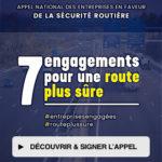 7 engagements pour une route plus sûre